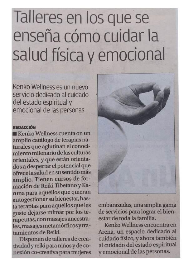 Espacio de Kenko Wellness en el especial Arena Alicante