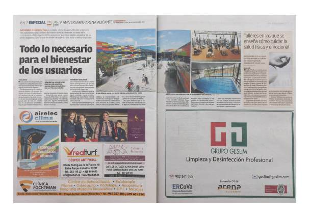 Reportaje especial aniversario Arena Alicante