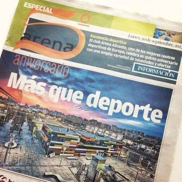 Reportaje especial 5º aniversario Arena Alicante