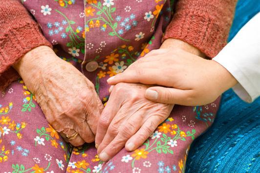 El reiki para cuidadores de dependientes
