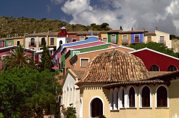 pueblo acantilado kenko reiki Alicante